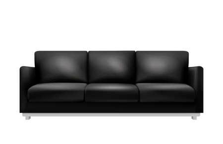Illustration pour Sofa Realistic Illustration - image libre de droit
