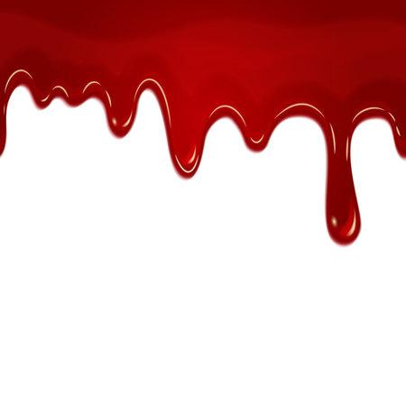 Illustration pour vector dripping seamless blood - image libre de droit