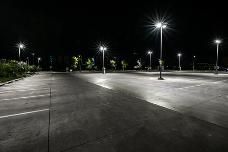 Photo for Parking at night - Royalty Free Image