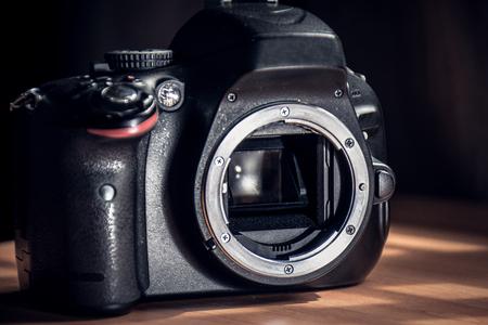 senser of dslr camera