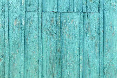 Foto de The old blue wood texture with natural patterns. - Imagen libre de derechos