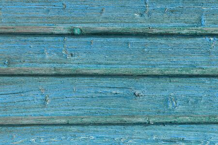 Foto per The old blue wood texture with natural patterns. - Immagine Royalty Free