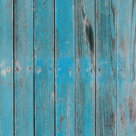 Foto de Old blue painted board with natural patterns. - Imagen libre de derechos