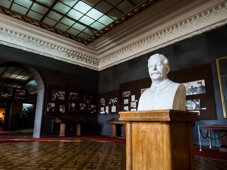 Museum of Stalin in his birthplace Gori, Georgia, Caucasus