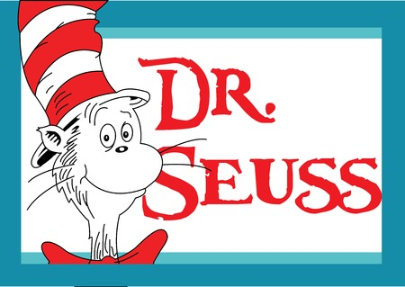 Vector illustration Day of Dr. Seuss.