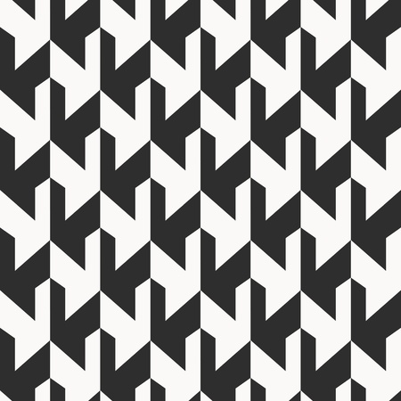 Ilustración de Monochrome background, abstract seamless pattern - Imagen libre de derechos