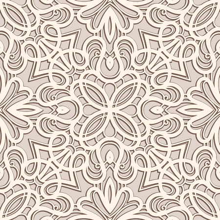Photo for Vintage ornament, lace texture, seamless pattern - Royalty Free Image