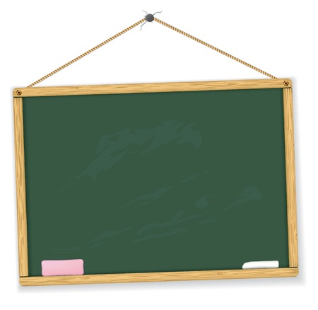 blackboard. Highly detailed. Easy to edit. Education collection.