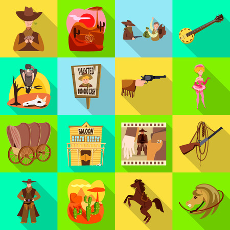 Illustration pour Vector illustration of texas and history. Collection of texas and culture stock symbol for web. - image libre de droit