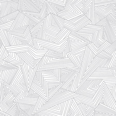 Seamless abstract pattern. Broken lines.