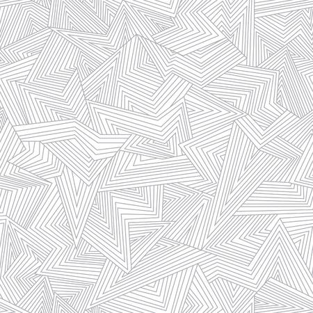 Seamless abstract pattern. Broken lines.