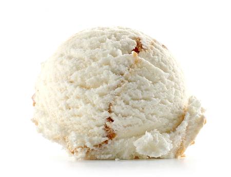 Photo for ice cream isolated on white background - Royalty Free Image