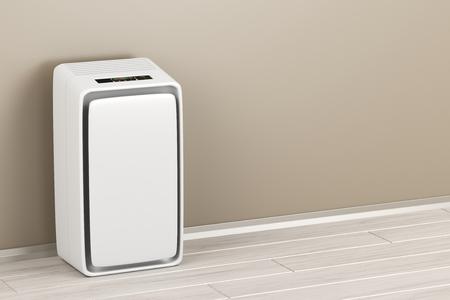 Photo pour Electric air purifier in the room - image libre de droit