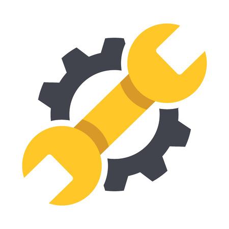 Repair icon. Vector Illustration.