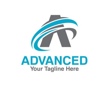 Illustration pour Business corporate letter A logo design template. Simple and clean design of letter A logo vector. - image libre de droit