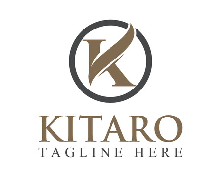Business corporate letter K logo design vector.