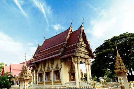 the buddhist temple on the temple