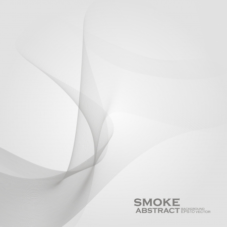 Smoke background. Abstract  vector illustration