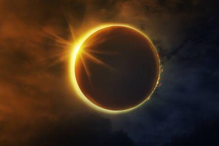 Photo pour A Total Eclipse of the Sun. - image libre de droit