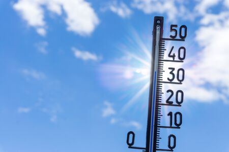 Photo for Heat wave in summer - Royalty Free Image