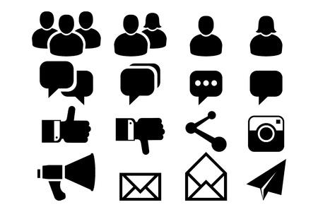 Blog and Social Media icons
