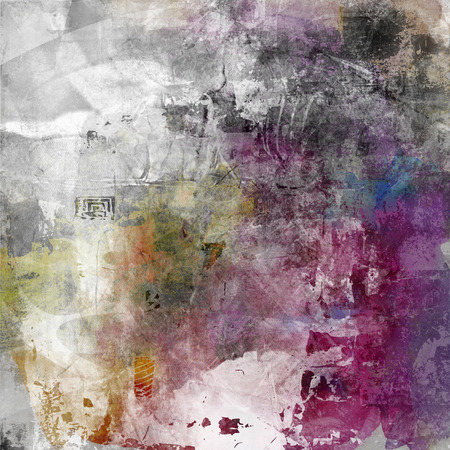abstract decorative mixed media artwork