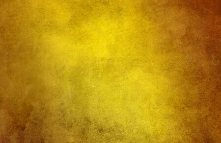Photo pour gold paint glazes in different shifting shades on paper structure - image libre de droit