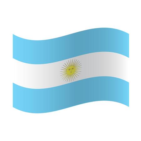 Ilustración de Vector Argentina flag, Argentina flag illustration, Argentina flag picture, Argentina flag image - Imagen libre de derechos