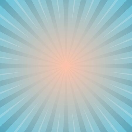 Illustration for sun with rays star burst television vintage background stock vector illustration - Royalty Free Image