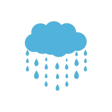 Illustration pour Cloud and sun icon. Cloud and rain icon. Cloud and snow icon designs. - image libre de droit