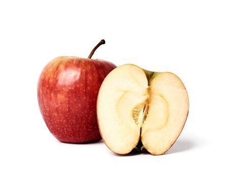 Photo pour fresh apple isolated on white background - image libre de droit