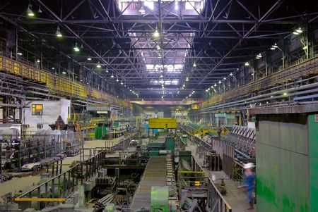 fabrication mill, rolling mill in perspective