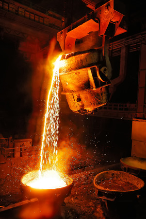 Photo for Liquid Molten Steel Industry - Royalty Free Image