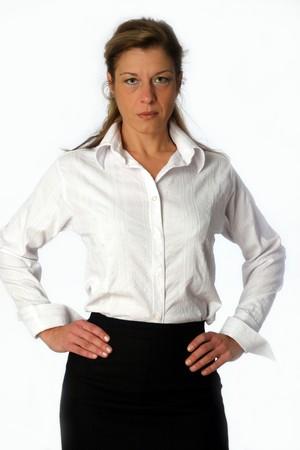 busuness woman posing