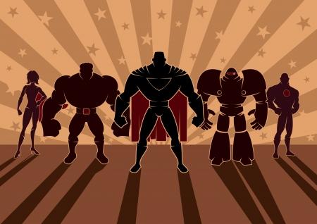 Team of heroes