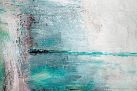 Oil painting abstract, also available in gray tones