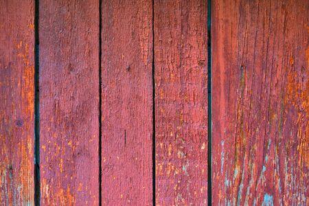 Foto de Old texture painted wooden boards for background or for wallpaper of red color - Imagen libre de derechos