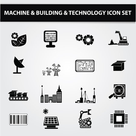 Electronics,Technol ogy icon set,Vector