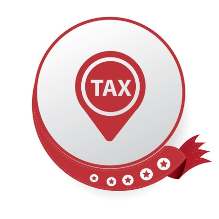 Tax symbol,vector