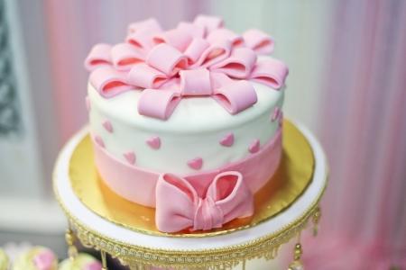 lovely cake for wedding event