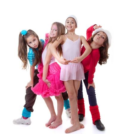 kids dance school, ballet, hiphop, street,funky and modern dancers
