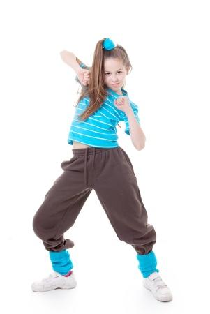 street dancer dancing hip hop modern dance