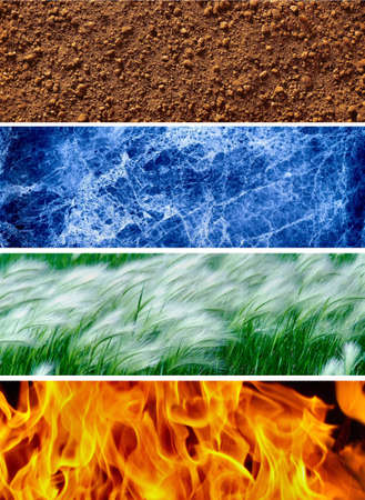 Four elements of the nature # 1
