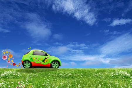 Foto de Eco car - Imagen libre de derechos