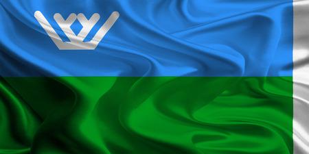 Flag of Khanty–Mansi Autonomous Okrug – Yugra