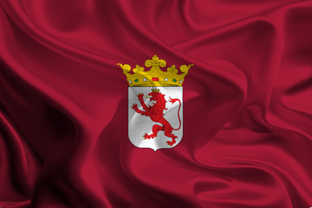 Flags of Provinces of Spain  Leon