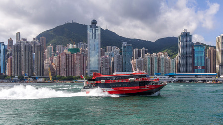 TurboJET provides services between Hong Kong Hong Kong International Airport Macau Shenzhen and Guangzhou all located around the Pearl River Delta in southern China.