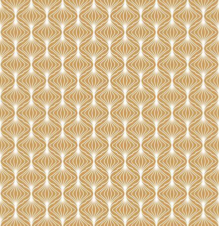 Illustration pour Art Deco Seamless Pattern Background. Geometric decorative texture. - image libre de droit