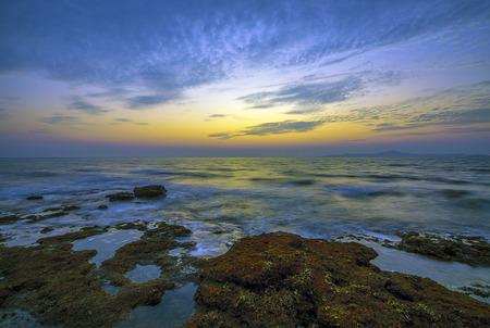 Photo pour Sunset in Thailand - image libre de droit
