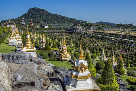 Photo pour Nong Nooch Tropical Botanical Garden in Pattaya - image libre de droit